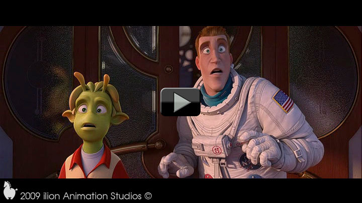 Planet 51 - Animation Reel